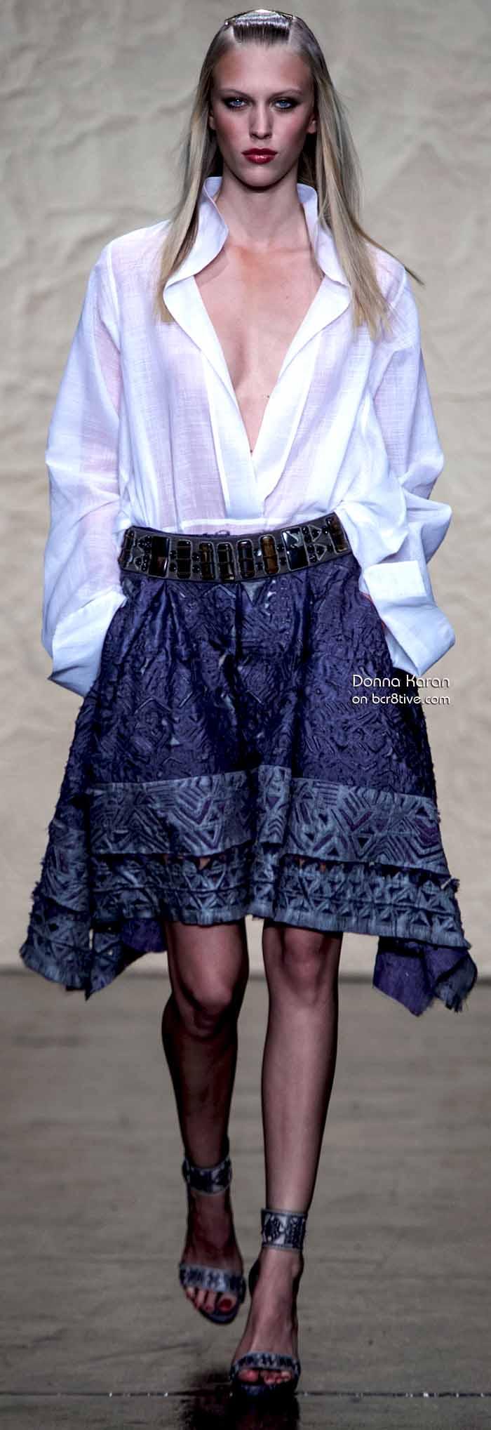 Donna Karan Spring 2014 #NYFW