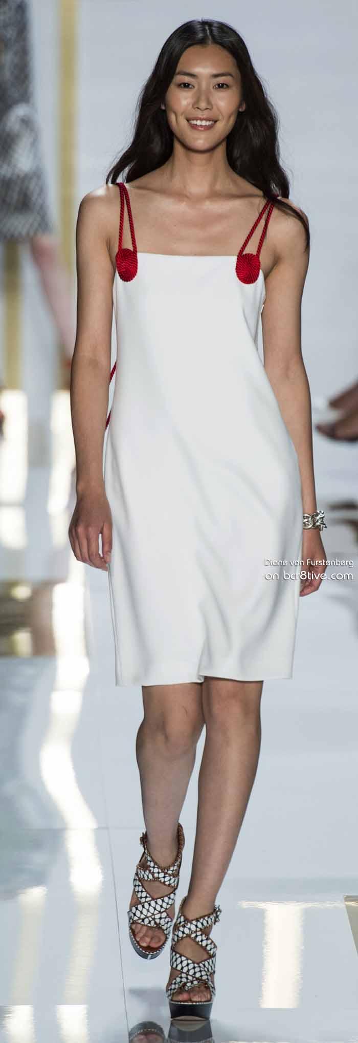 Diane von Furstenberg Spring 2014 #NYFW