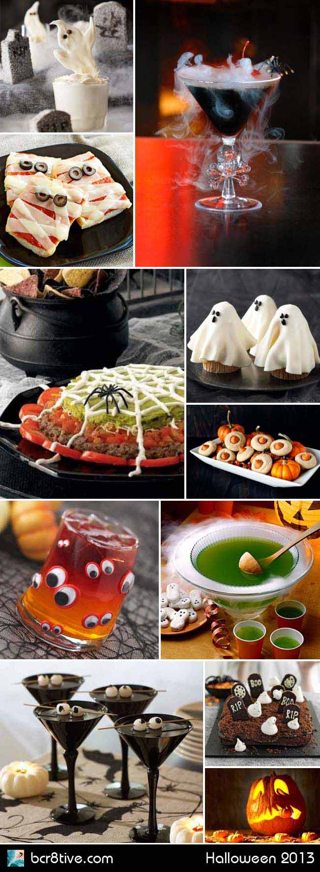Halloween Party Ideas - bcr8tive