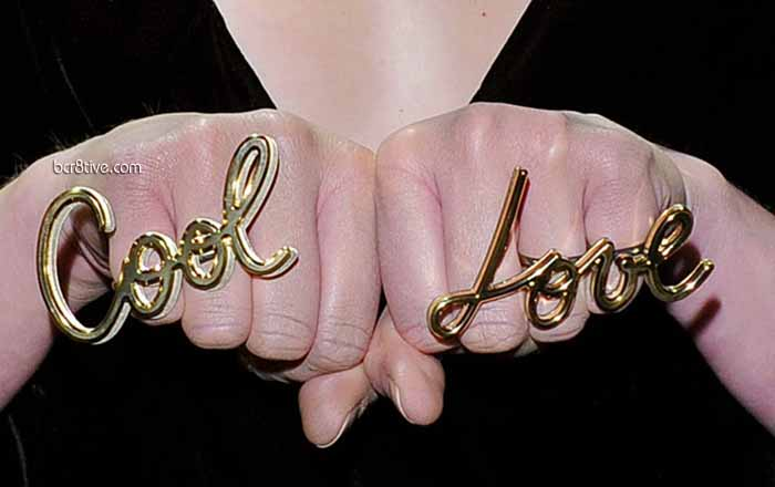 Lanvin Fall Winter 2013-14 - Love & Cool Rings