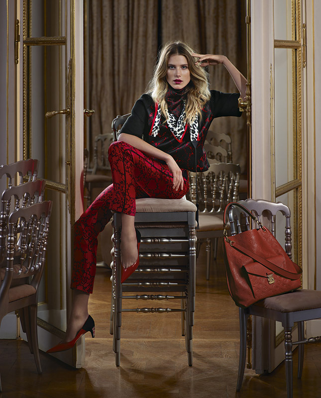Louis Vuitton Pre-Fall 2013 Ad Campaign
