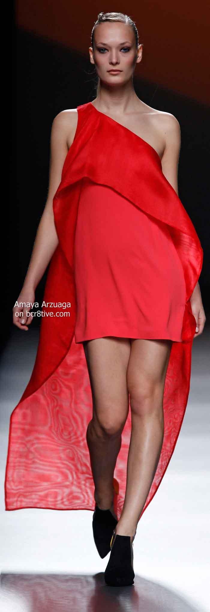 Amaya Arzuaga Spring 2014 #MBFW Madrid