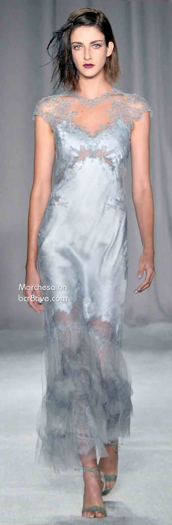 Marchesa Spring 2014 Ready to Wear #NYFW
