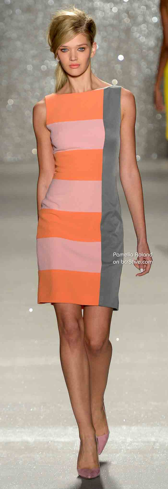 Pamella Roland Spring 2014 Ready to Wear #NYFW