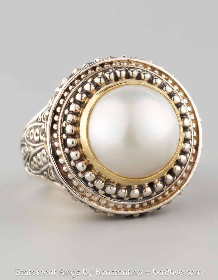 Konstantino Mabe Pearl Dome Ring