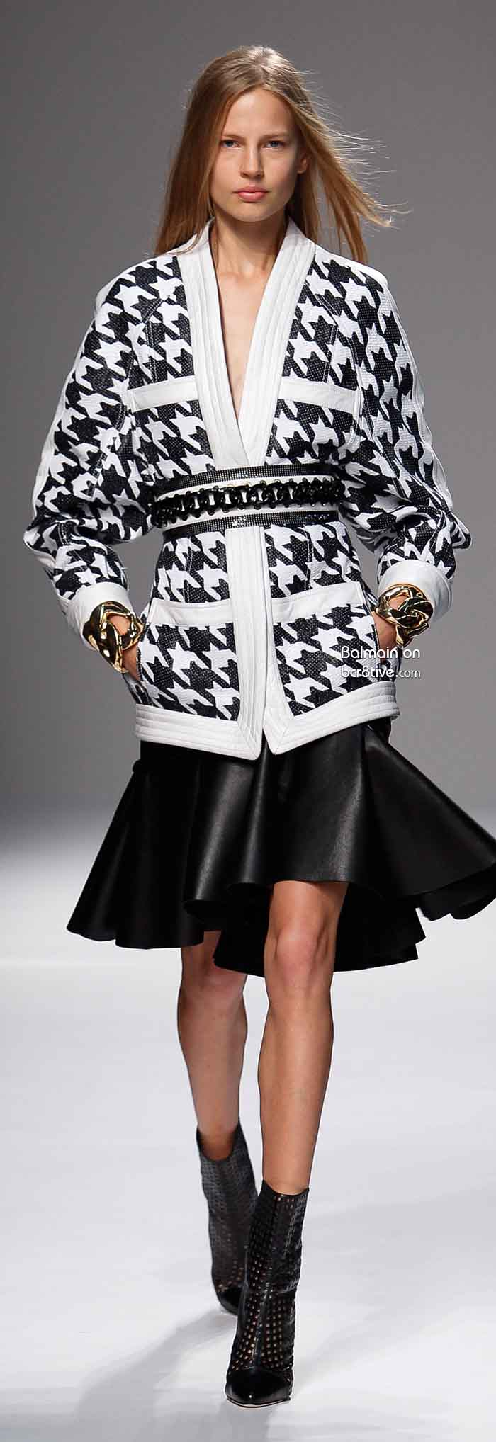 Balmain Spring 2014 Paris Fashion Week