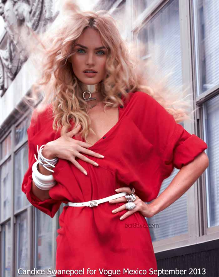 Candice Swanepoel for Vogue Mexico September 2013