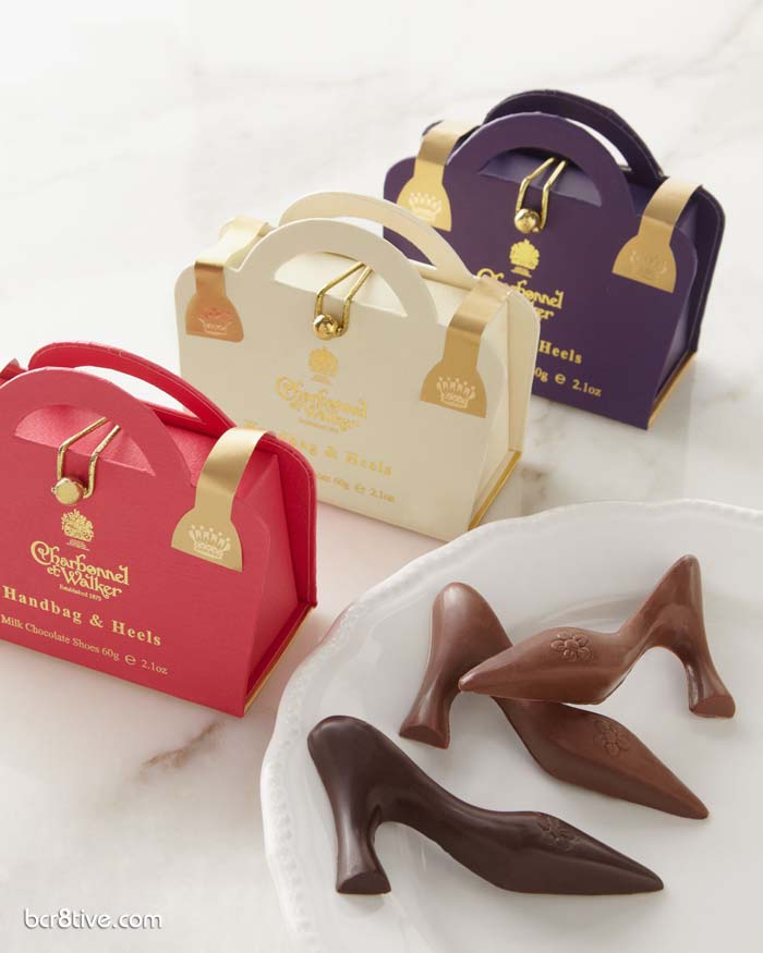 "Charbonnel ET Walker - Three ""Handbag & Heels"" Chocolates"