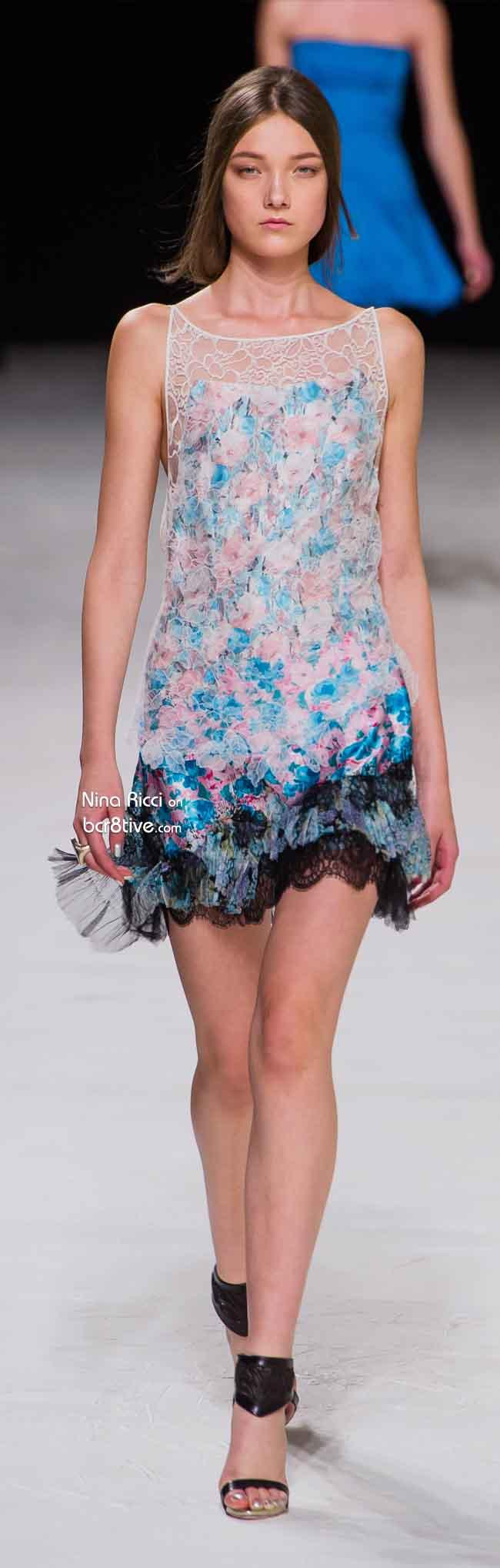 Nina Ricci Spring 2014