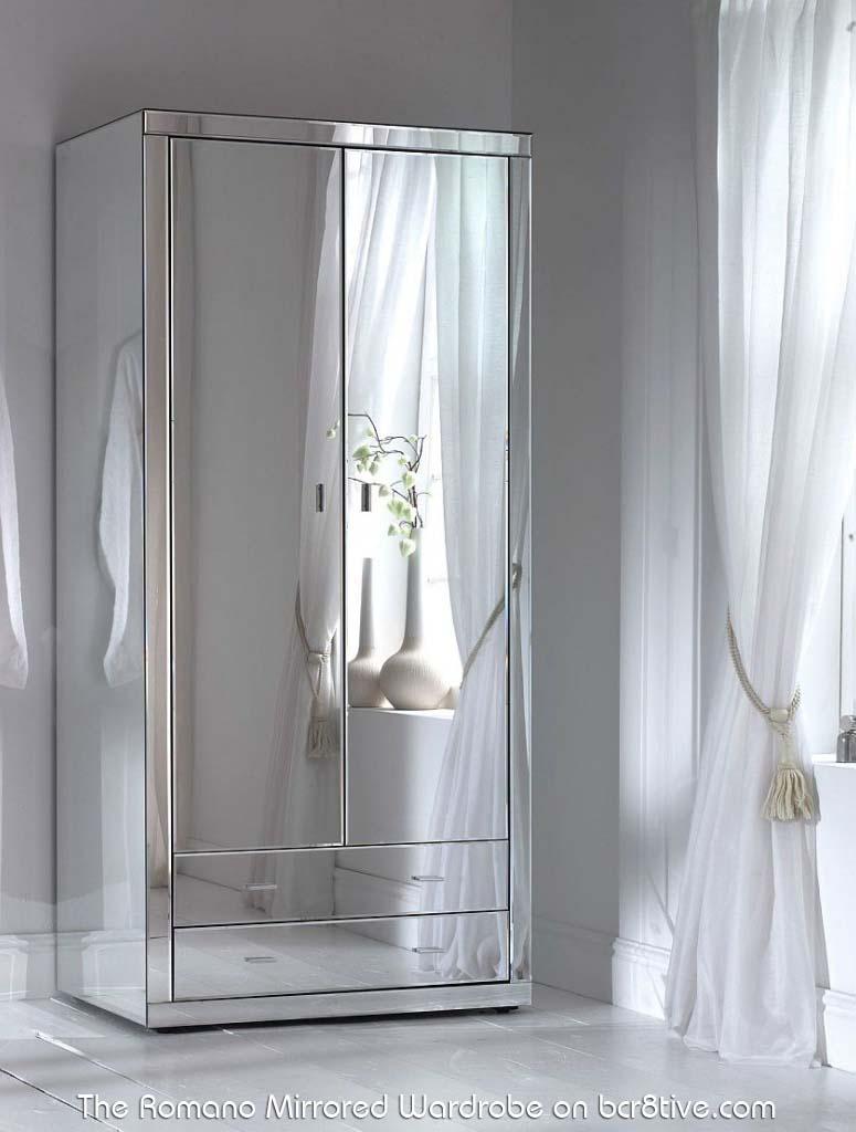 Romano Mirror Wardrobe