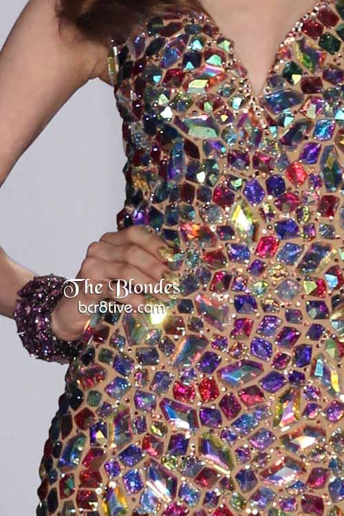 The Blonds Gemstone Mosaic Dress