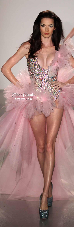 The Blonds Gemstone & Tulle Dress