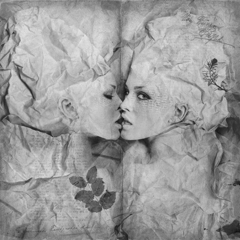 Photography & Digital Manipulation by Kassandra - Kissing-Pages