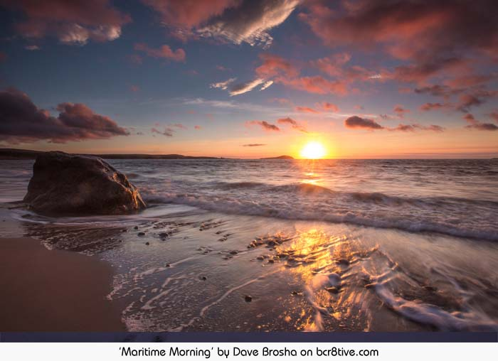 Maritime Morning - Dave Brosha