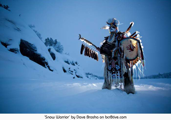 Snow Warrior - Dave Brosha