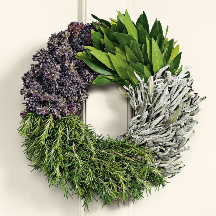 Cooks Herb Wreath - Williams-Sonoma