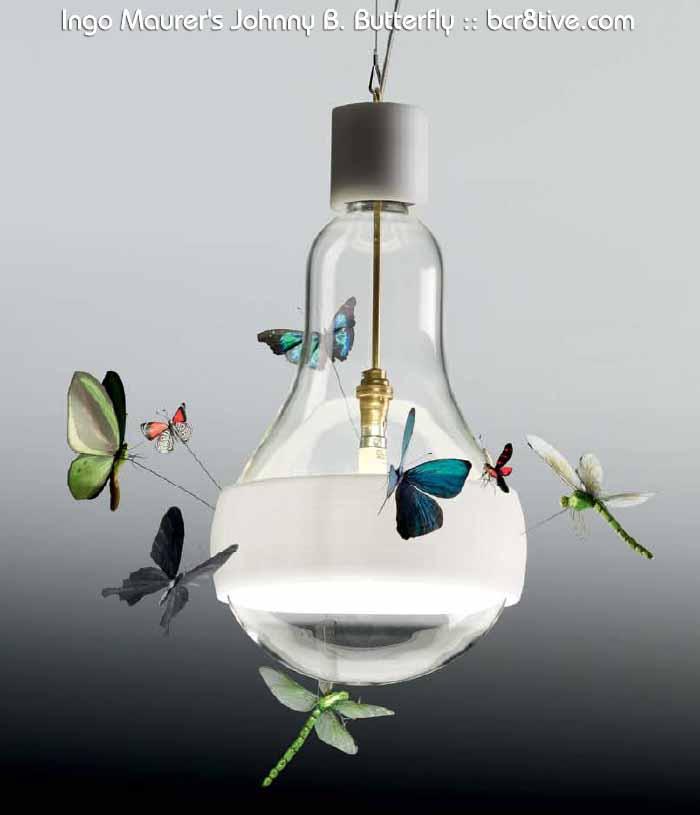 Ingo Maurer's Johnny B. Butterfly - Creative Butterfly Decor