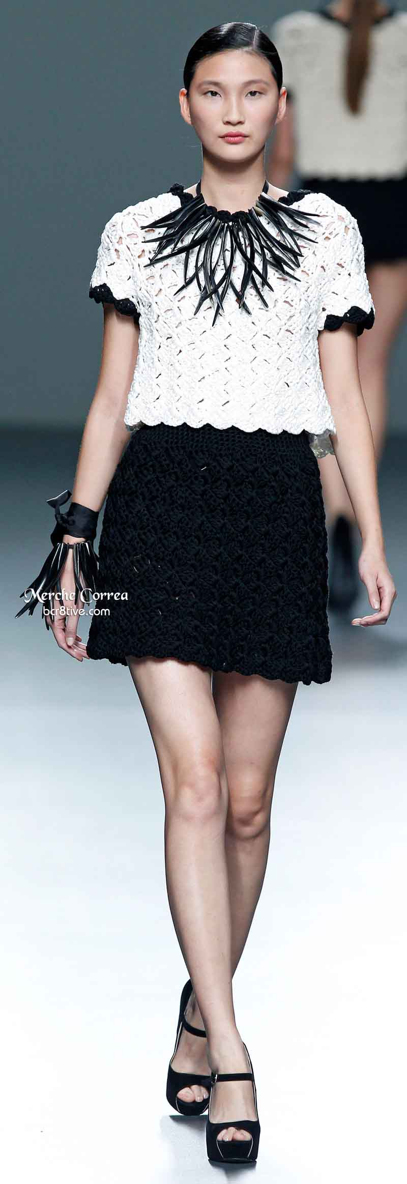 Merche Correa Spring 2014 - Crocheted Top