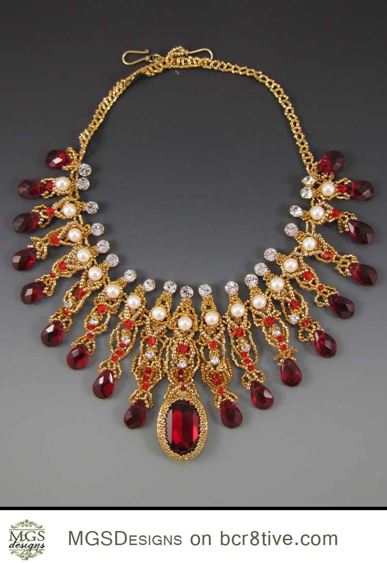 Bollywood Necklace by MGS Designs
