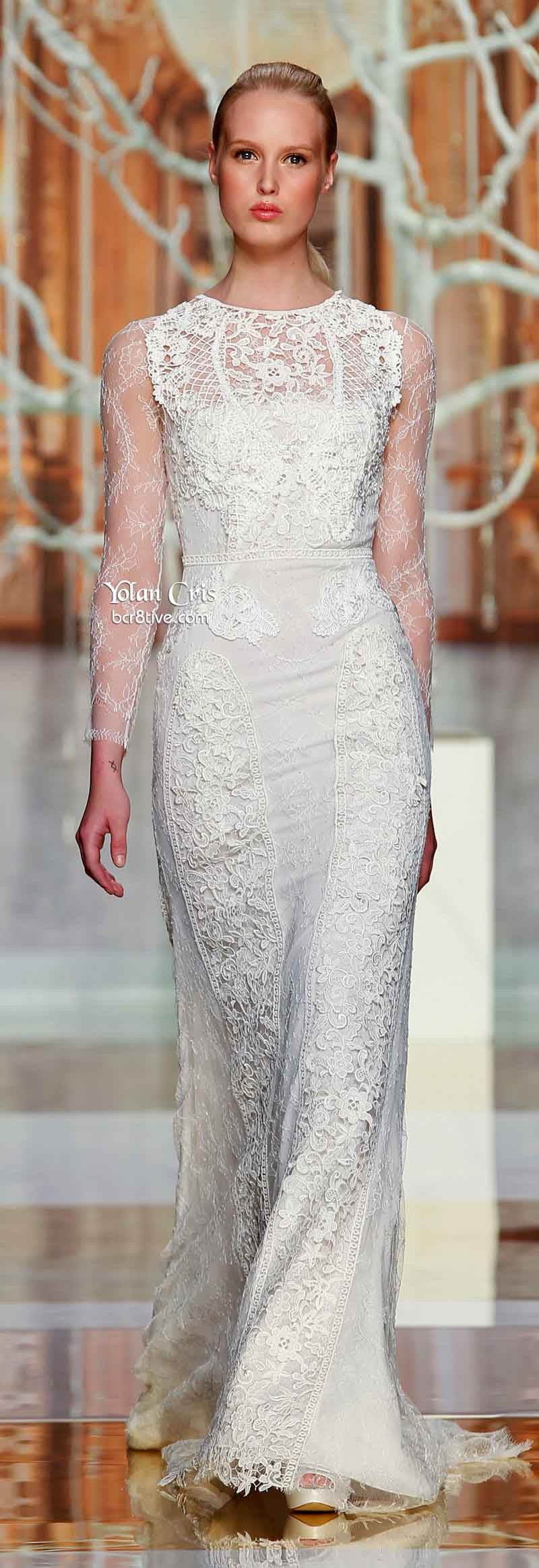 YolanCris Ethereal Evanescence Spring 2014 Bridal