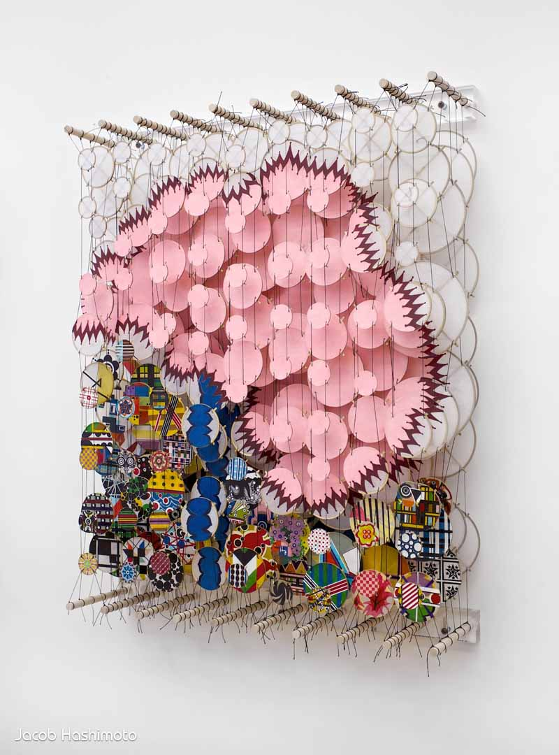 Jacob Hashimoto - Creative 3D Kite Installations