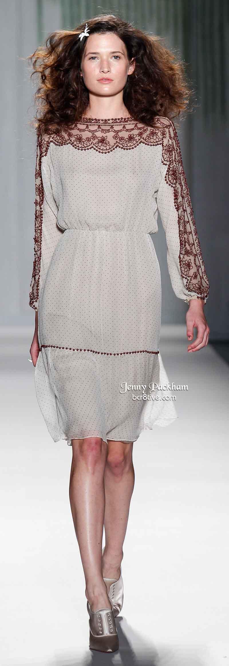 Jenny Packham Spring 2014