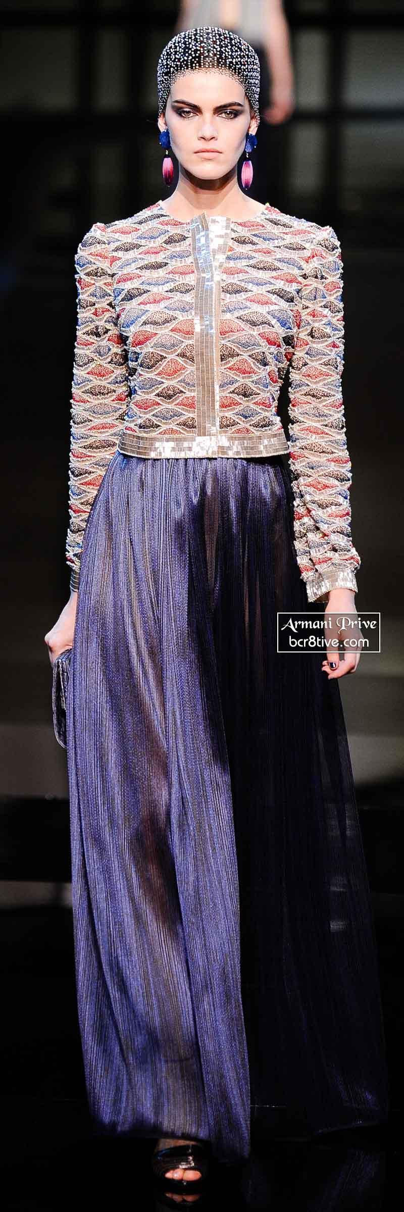 Armani Privé Spring 2014 Couture