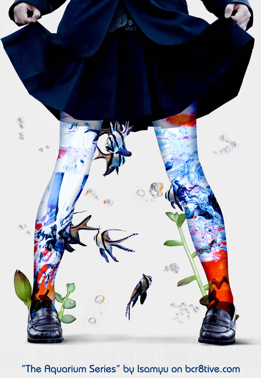 The Aquarium Series by Isamu - Pteraporium