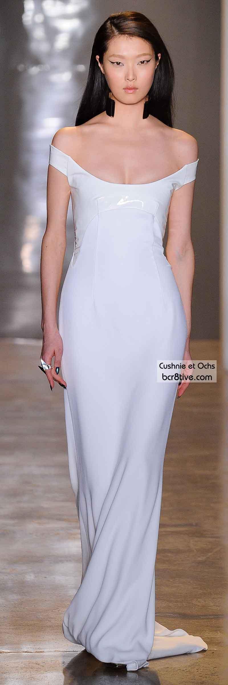 Cushnie et Ochs FW 2014 #NYFW