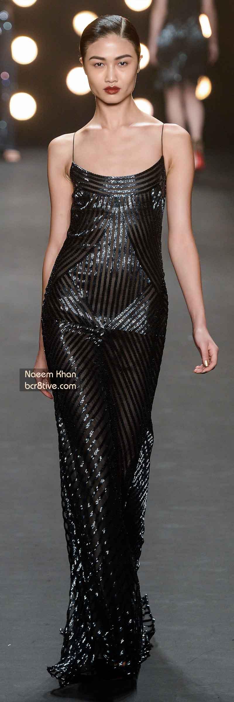 Naeem Khan FW 2014 #NYFW