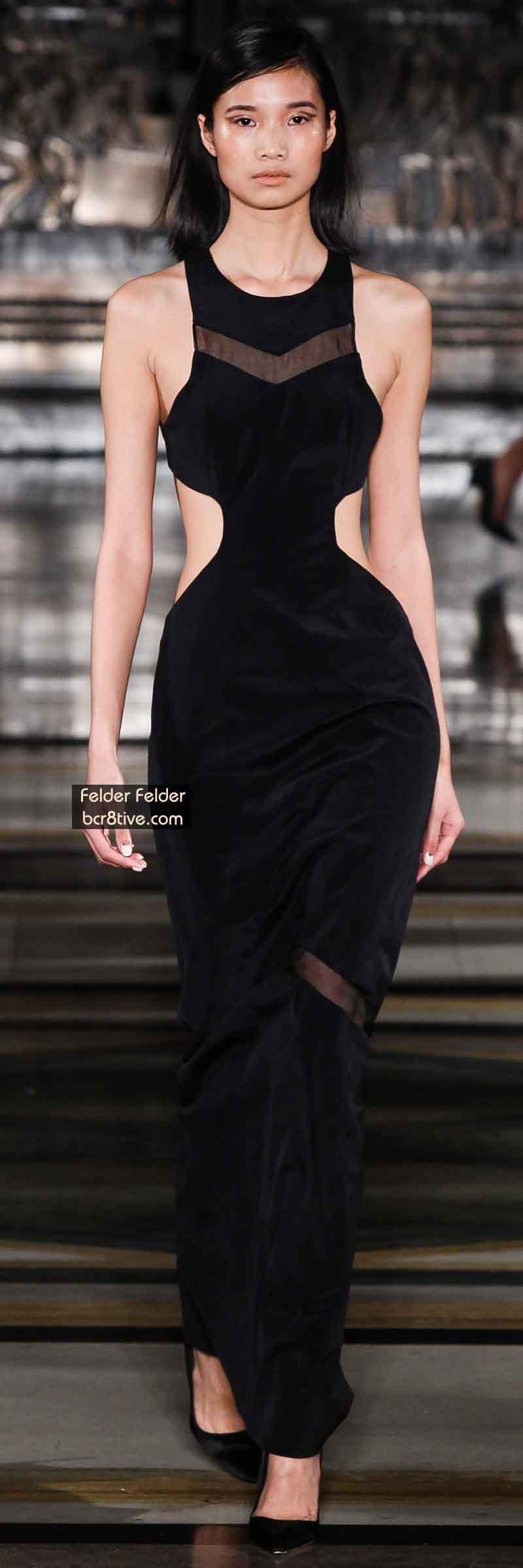 Felder Felder FW 2014 #LondonFashionWeek