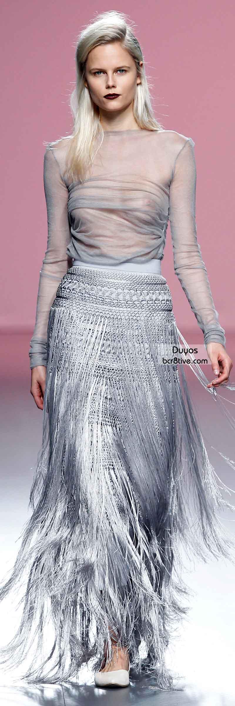 Duyos FW 2014 #MadridFashionWeek