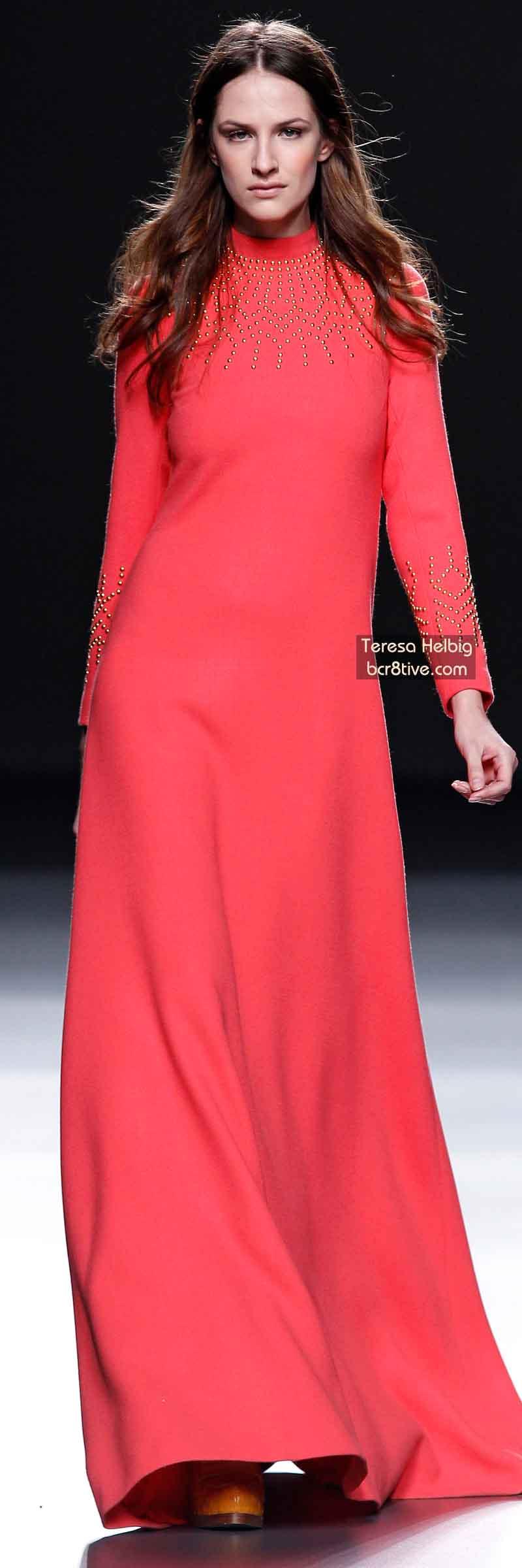 Teresa Helbig FW 2014 #MadridFashionWeek