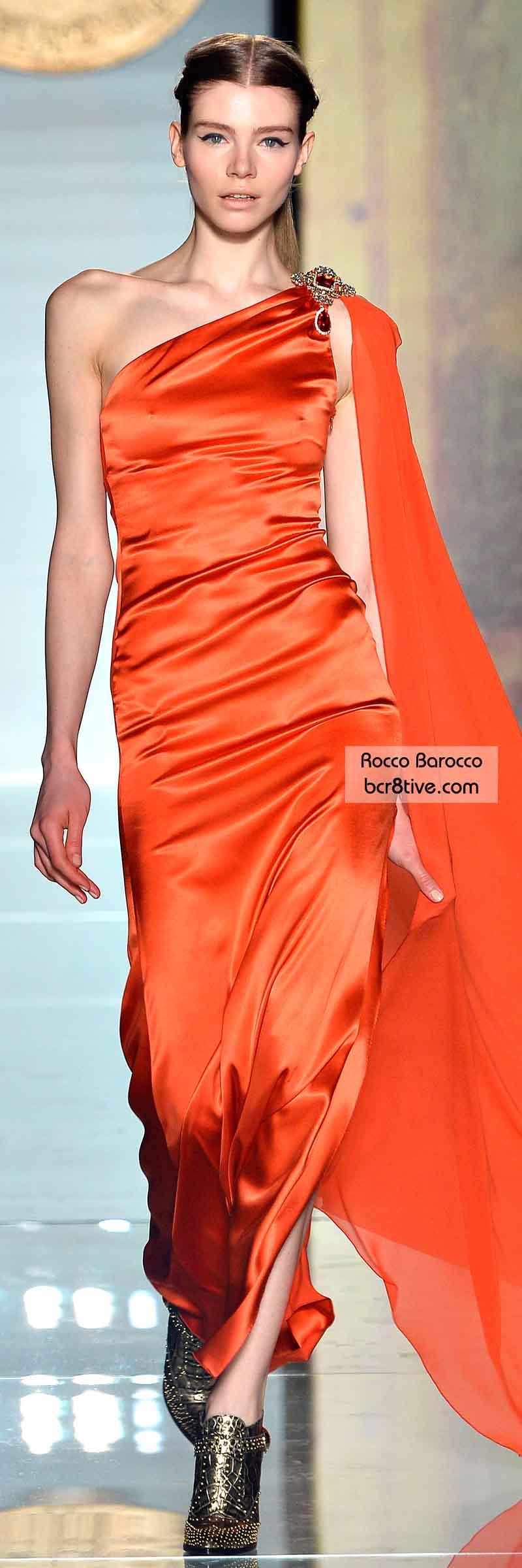 Rocco Barocco FW 2014 #MilanFashionWeek