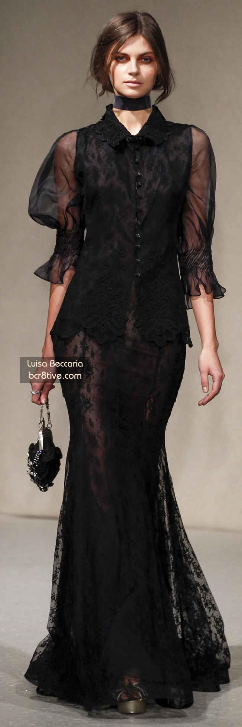 Luisa Beccaria FW 2014 #MilanFashionWeek
