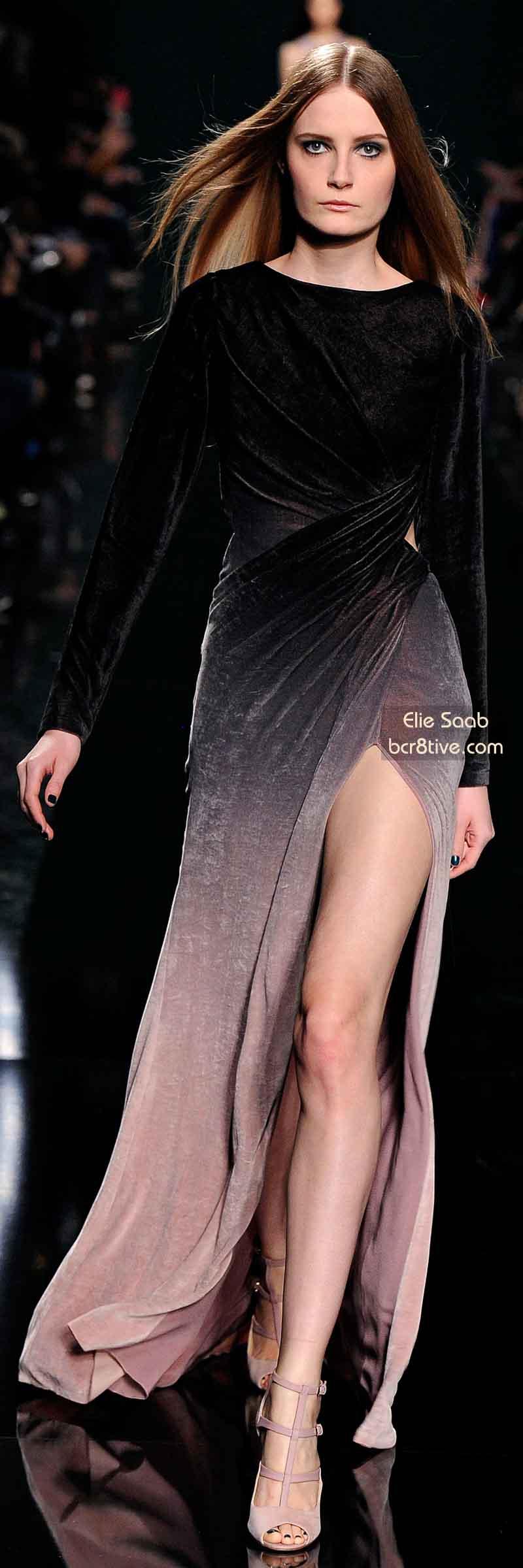 Elie Saab FW 2014 #ParisFashionWeek