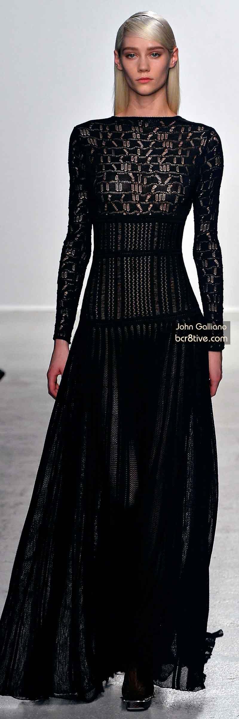 John Galliano FW 2014 #ParisFashionWeek