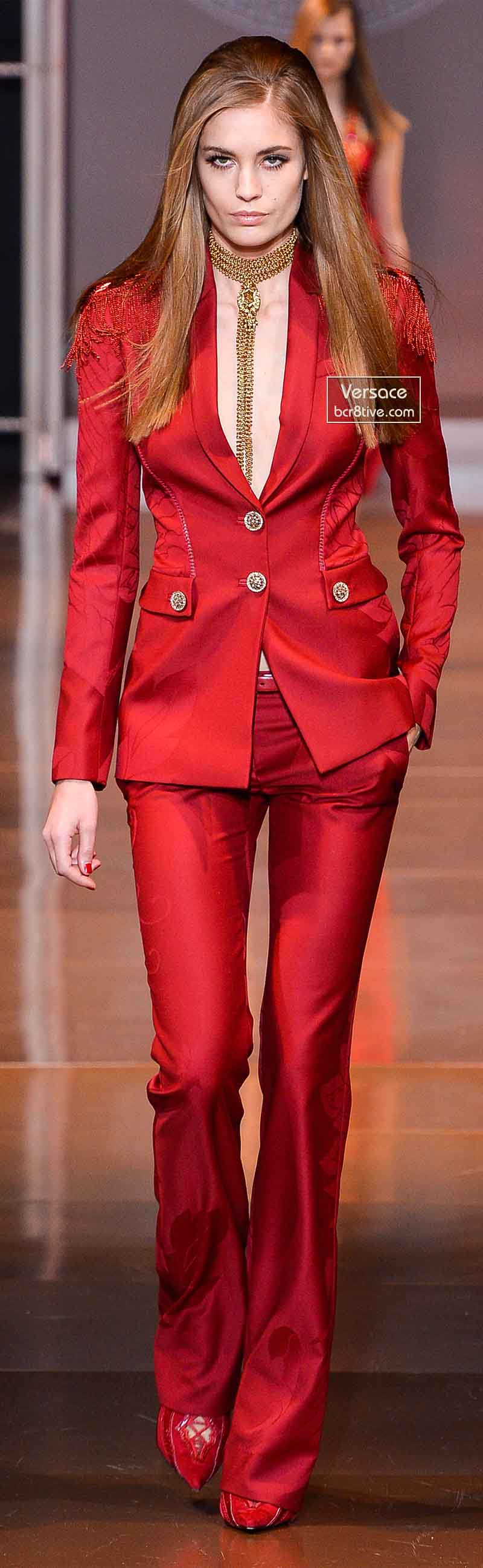Versace Fall 2014 - Nadja Bender