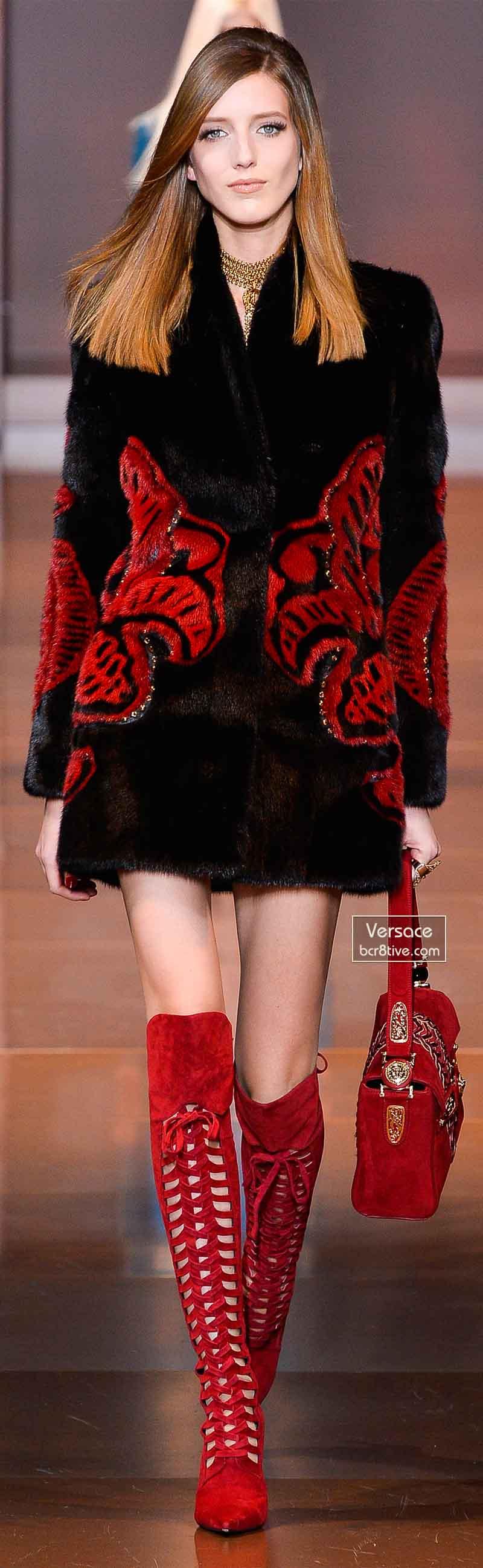 Versace Fall 2014 - Iris Egbers