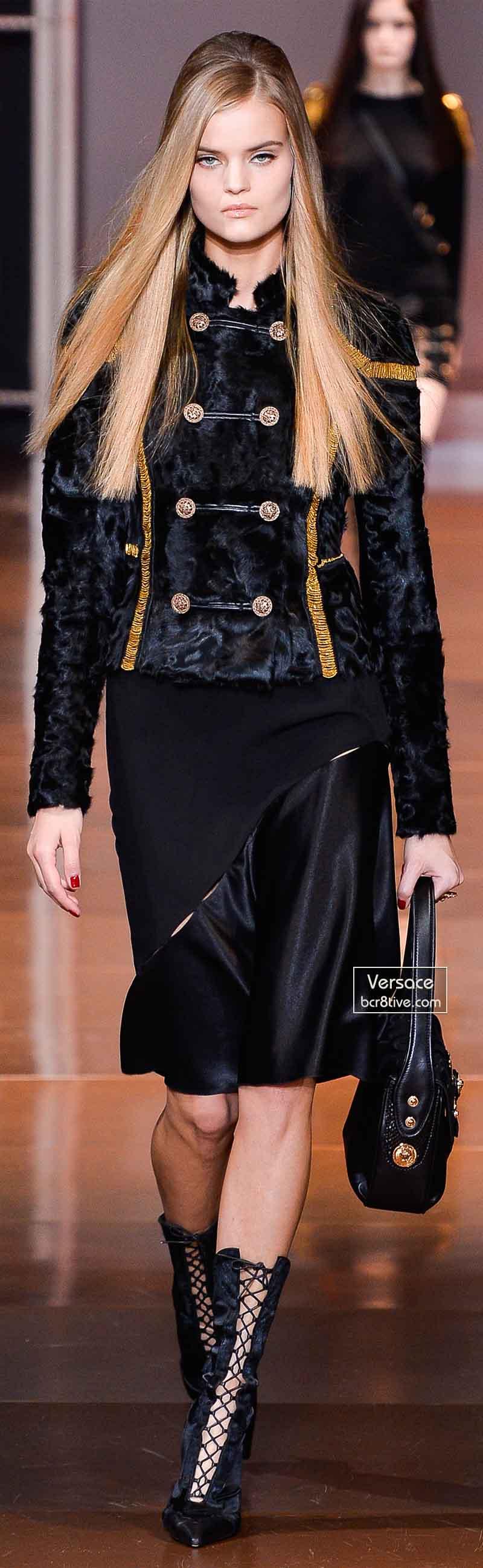 Versace Fall 2014 - Kate Grigorieva