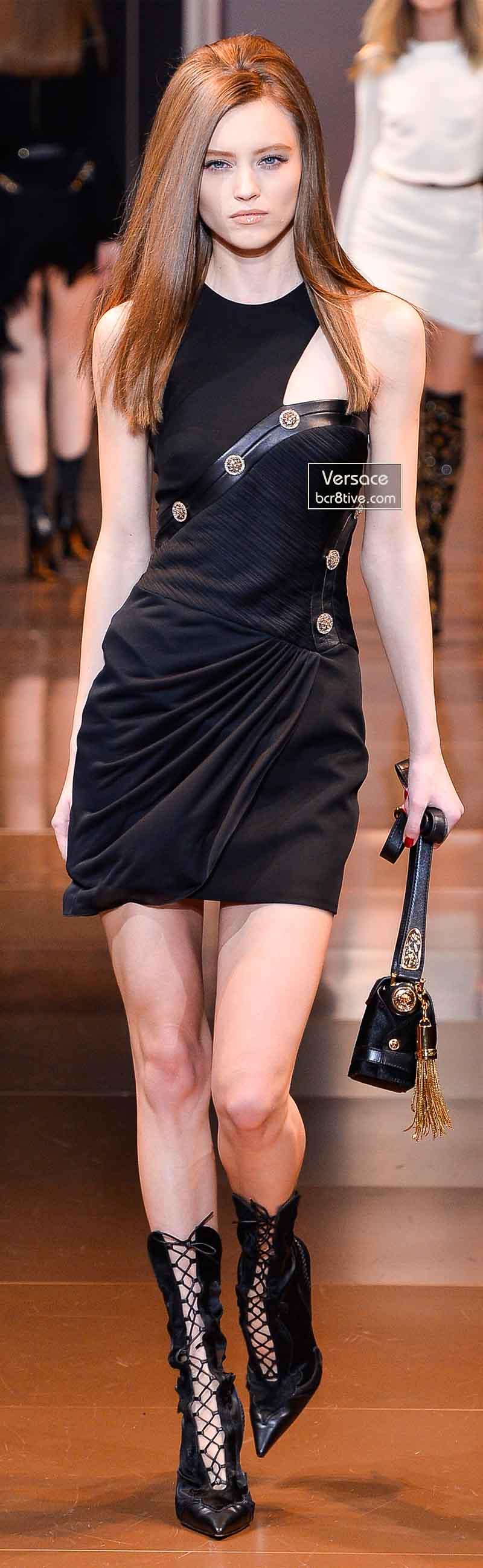 Versace Fall 2014 - Mila Krasnoiarova