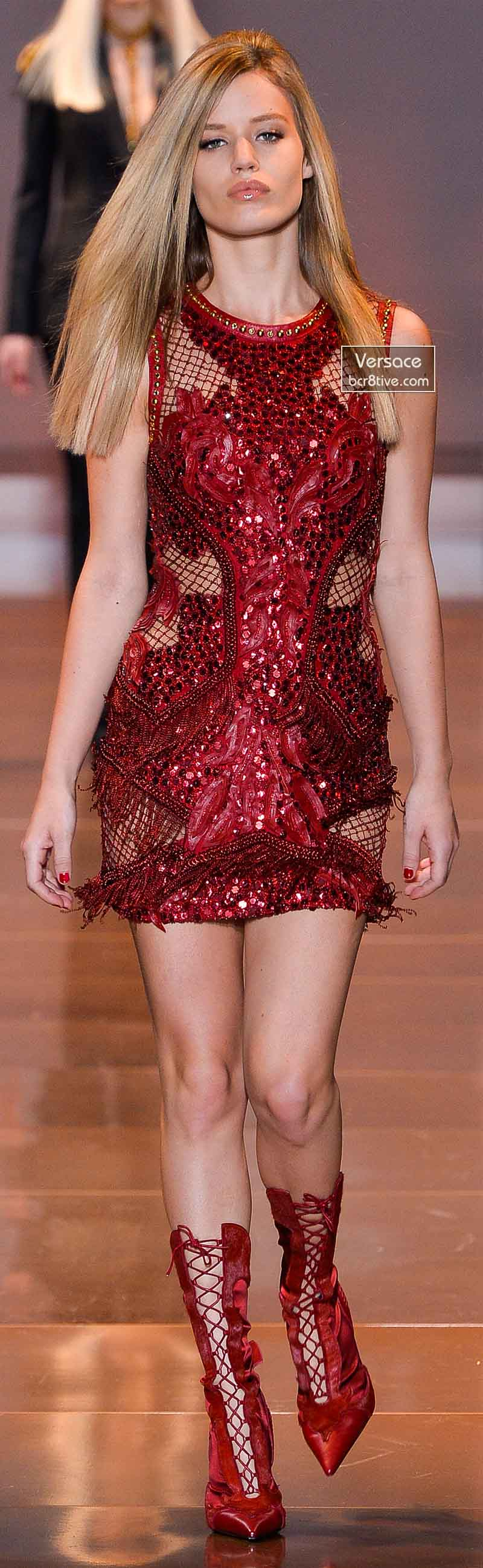 Versace Fall 2014 - Georgia May Jagger