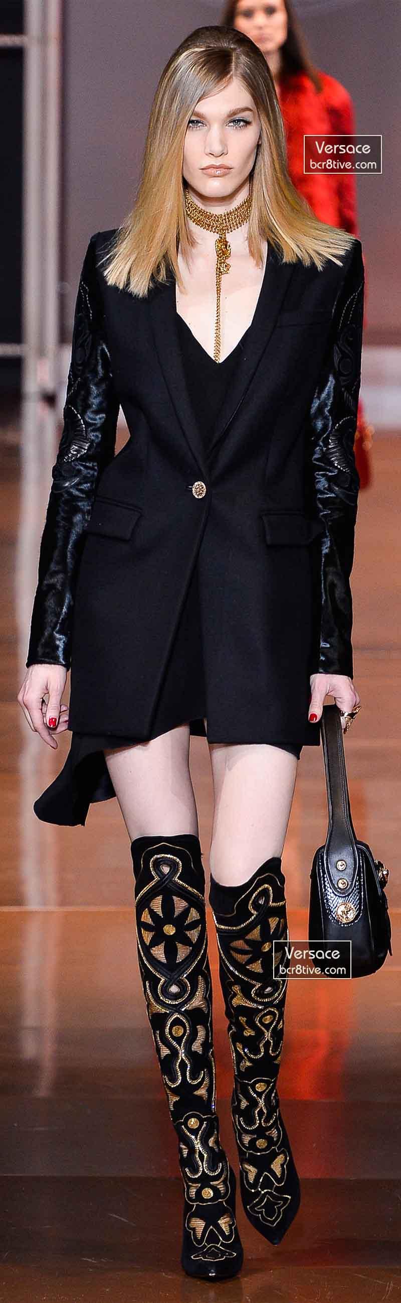 Versace Fall 2014 - Irina Nikolaeva