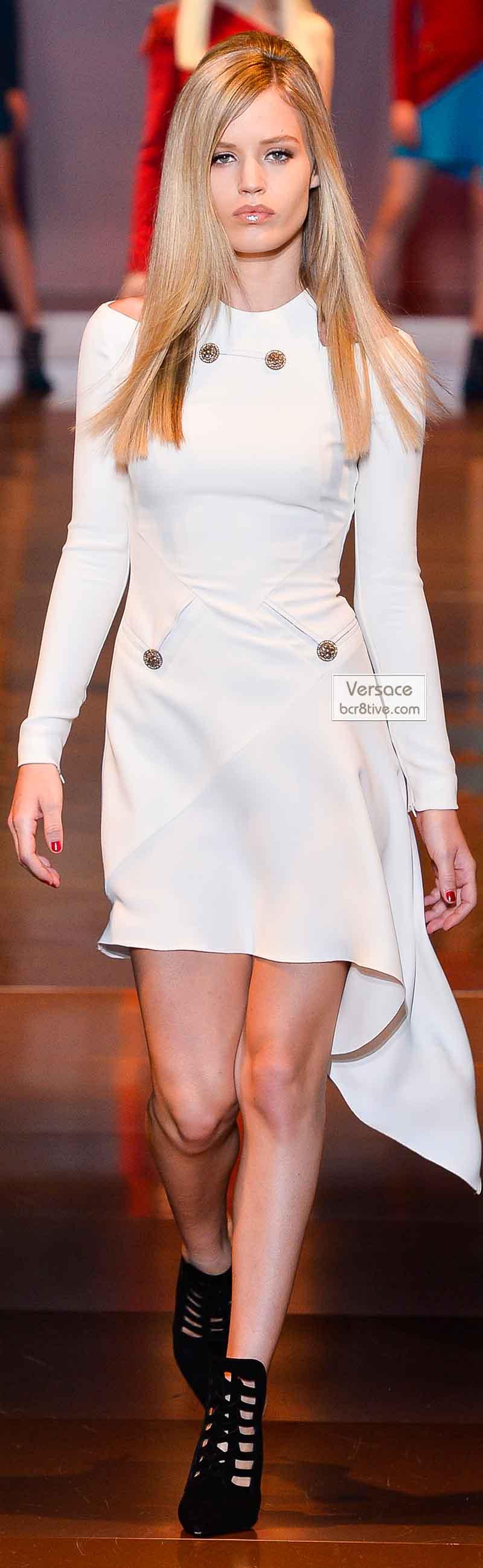 Versace Fall 2014 - Georgia May Jagger
