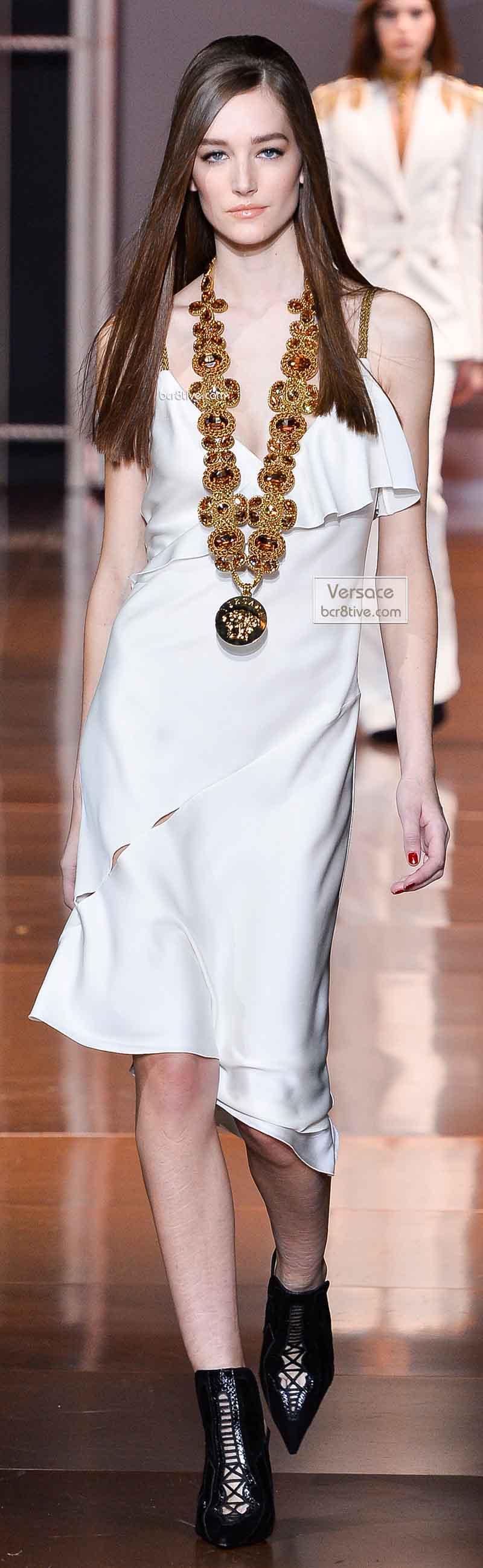 Versace Fall 2014 - Josephine Le Tutour