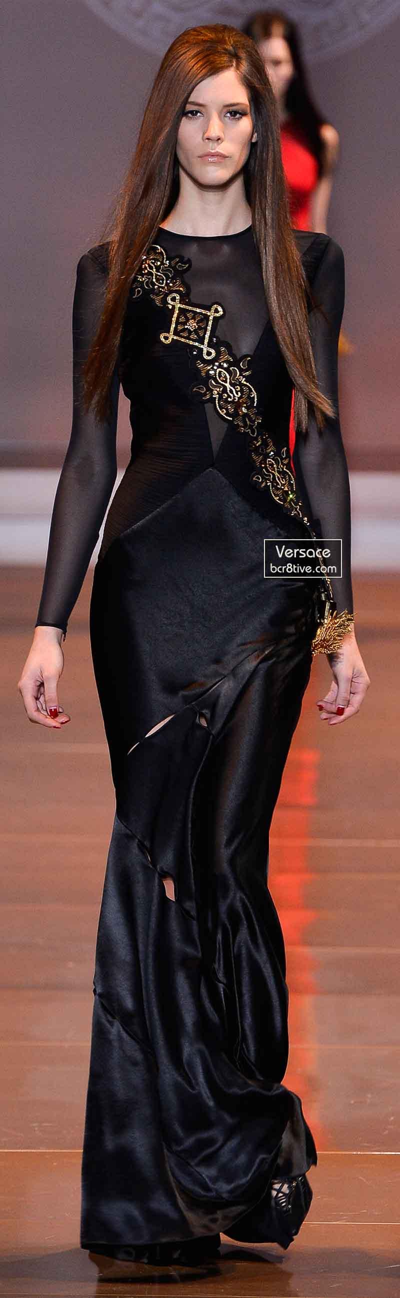 Versace Fall 2014 - Carla Ciffoni
