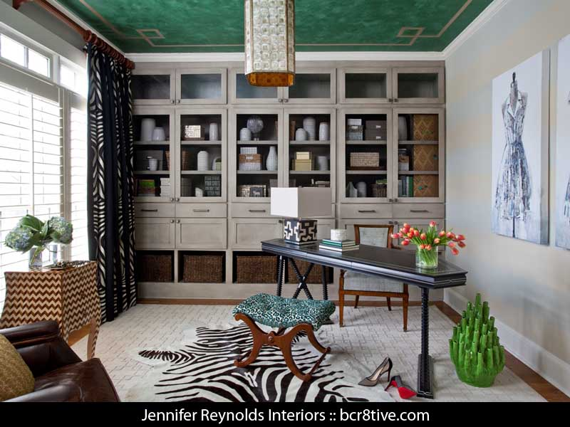 Jennifer Reynolds Interiors - Custom Painted Ceilings by Kevin Bruce