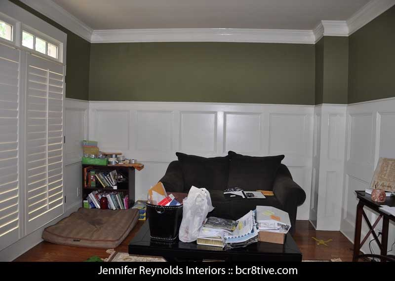 Jennifer Reynolds Interiors - Atlanta Home Office - BEFORE