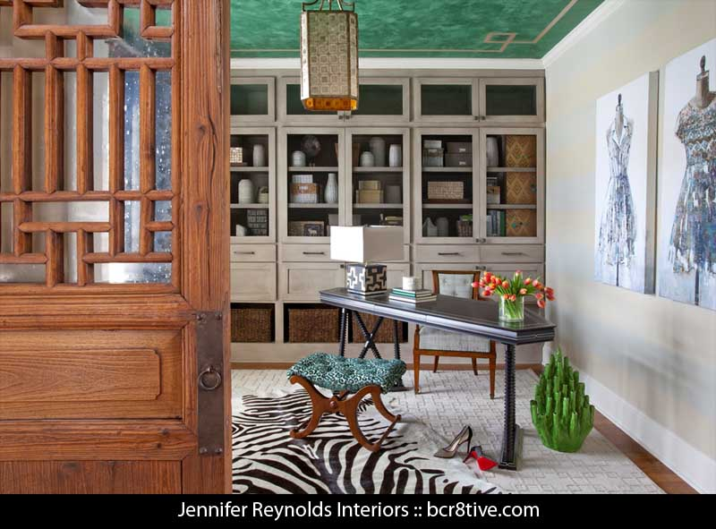 Jennifer Reynolds Interiors - Atlanta Home Office
