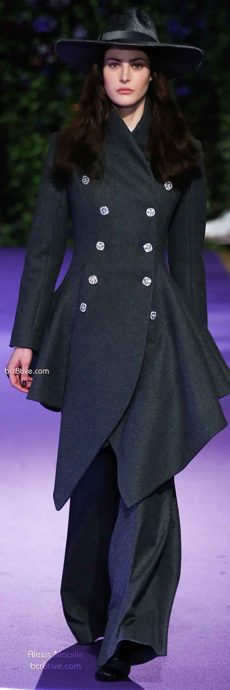 Fall 2014 Menswear Inspired Fashion - Alexis Mabille